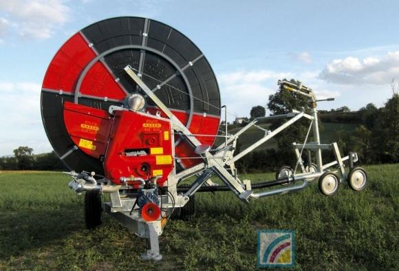 Шланго-барабанные дождевальные машины GTS080B